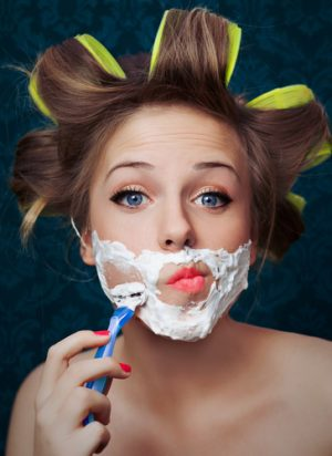 womens facial shaving